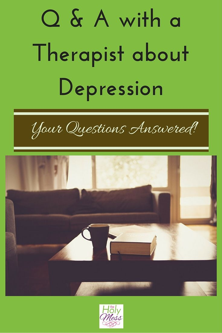 Get your depression questions answered from a resource in the field! Teen warning signs, how to find a therapist, Q & A with a therapist about depression.