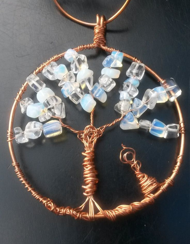 Winter Moon-Crystal Tree of Life sun catcher for car by BriEnergie on Etsy Would you believe if I told you this is the best item to have in your car? :-)))