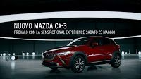 Nello spot per il lancio del nuovo crossover CX-3 della giapponese Mazda, l'automobile gira in tondo suonando degli strumenti a percussione percussioni.