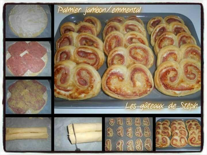 Palmiers jambon emmental recette pas pas pinterest - Cuisine du terroir definition ...