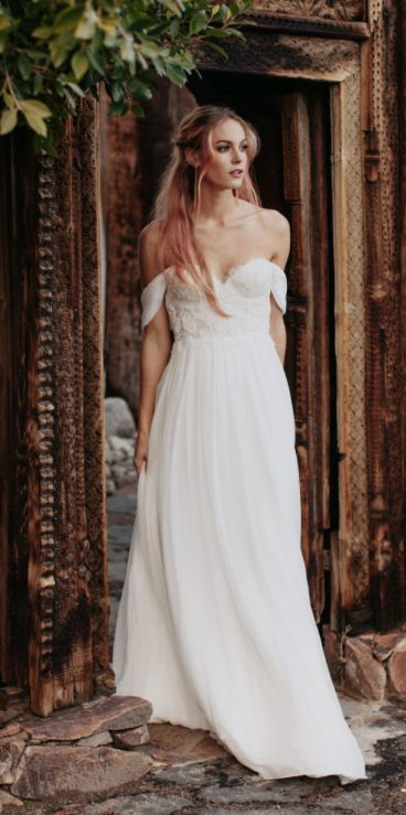 Wedding dress idea; Featured Dress: Sarah Seven