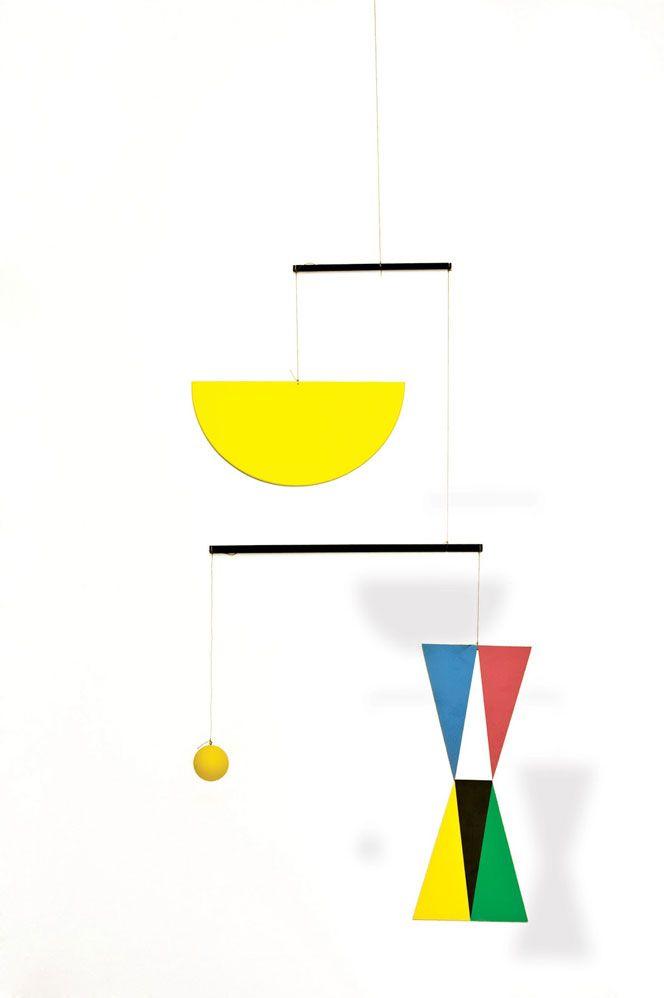 """Bruno Munari (Italian, 1907-1998) - """"Useless Machine"""""""