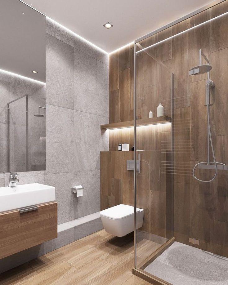 """REMODEL YOUR WORLD auf Instagram: """"Die Beleuchtung und der Kontrast der Töne machen Ihren Raum zu einem einzigartigen Ort. Wir haben Ihr Badezimmer mit den besten"""