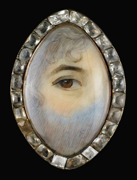 Lover's Eyes: How Eye Miniatures Became the Mood Rings of the Late 1700s | Vanity Fair