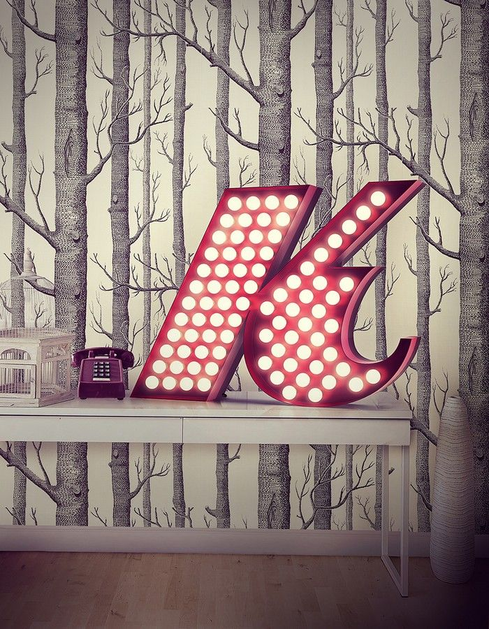 Per altre info: http://www.spazidilusso.it/25-lettere-luminose-vintage/    #lettereluminose #lettereluminosevintage #soggiornomoderno