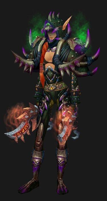 blood elf Rogue Season 11 gear