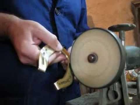Polishing horseshoe by Mircea Jichici. https://www.facebook.com/jichici.mircea https://www.facebook.com/pages/Mircea-Jichici-painting/284399895040599  http://www.youtube.com/user/MrJichici