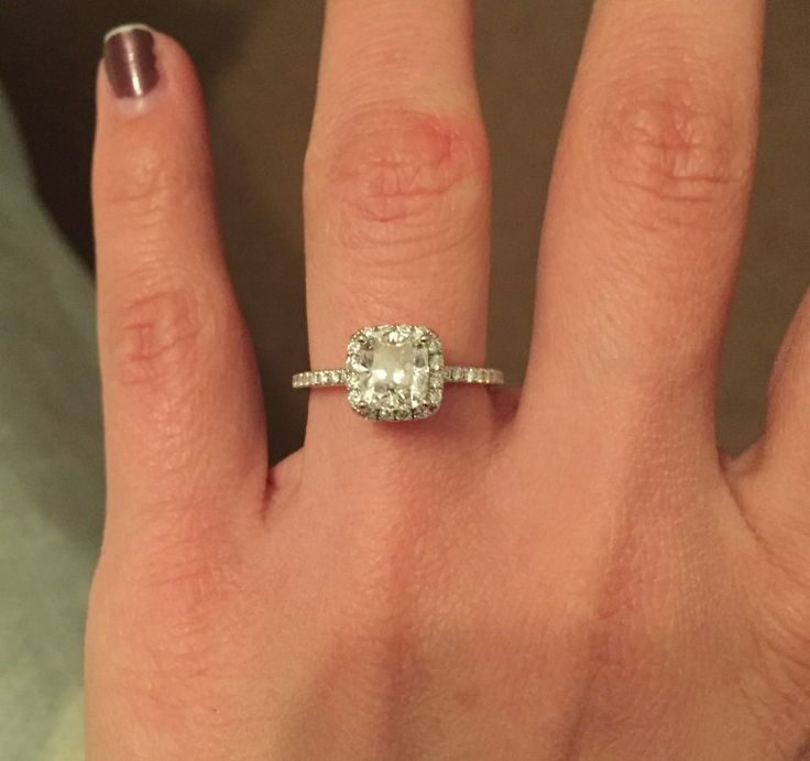 7 Carat Cushion Cut Diamond Ring - You have been dating the person of your dreams for quite a while now.  You may or might not be staying together as a couple, both of the two has its own connection problems; if you do not live as a couple, the feeling of loneliness that surges through your...