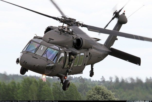 UH-60M Black Hawk Multi-Mission Helicopter