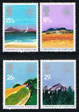 Landscapes by Donald Hamilton Fraser Starmps -  Paintings -Great Britain #1015-1018 Stamps - EU GB 1015 to 1018-1 MNH