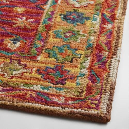Crafted In India Of 100 Wool Pile Our Tufted Rug