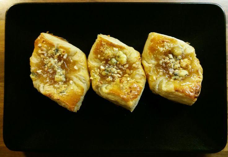 Päärynäkinuski-Aurajuusto-Cashew-tortut 3.1.2017