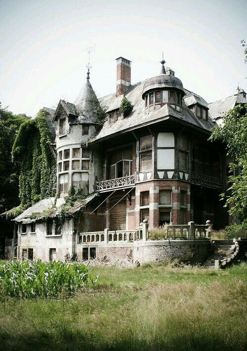 Abandoned mansion                                                       …
