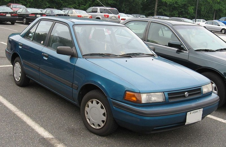Mazda Protege DX - my first car!