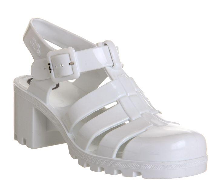 JuJu Babe Hi Juju Jelly White - Sandals - getting these bad boys
