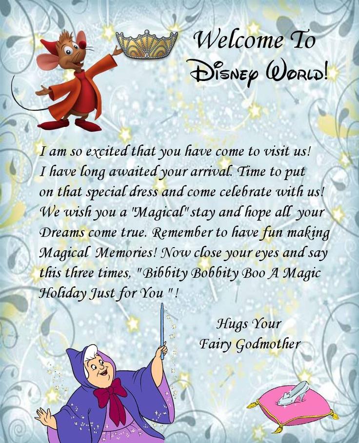 Welcome Letter Disney World Here I Come D Yayyy Disney Geek Pinterest Disney