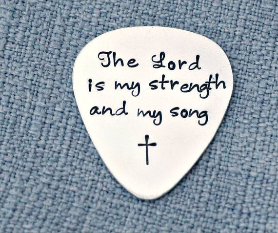 Personalized Guitar Pick  Hand Stamped by 3LittlePixiesShoppe, $45.00