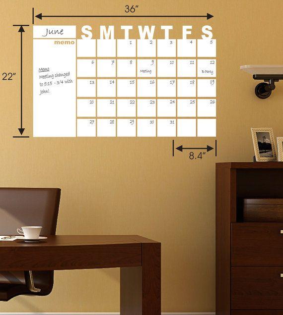 Calendario mensual de borrado seco seco borrar calendario dejó