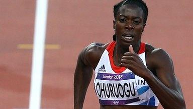 Christine Ohuruogu wins silver 400m