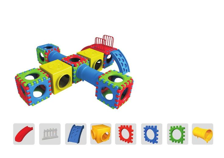 #Plastic #Playground #Equipment will help you to keep your kid engaged and yet keep safe.
