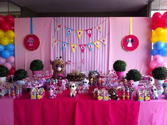 Cheirinho de Festa - Decoração para Festa Infantil - RJ: Beanie Boos