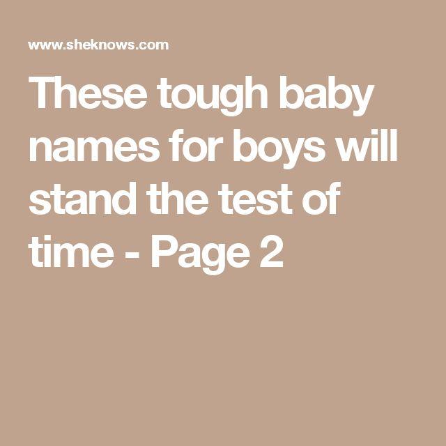 Rugged Baby Boy Names Home Decor