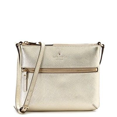 kate spade new york Cedar Street Tenley Cross Body Bag, Gold, One Size