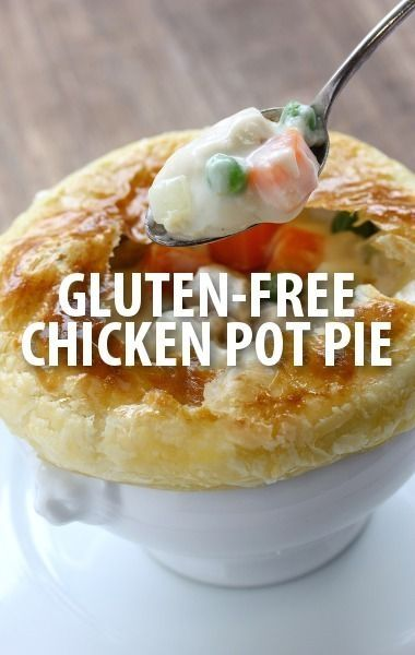Chris Kimball, host of America's Test Kitchen, shared his recipe for Chicken Pot Pie from his gluten-free cookbook, the How Can It Be Gluten-Free Cookbook.