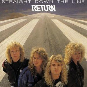 Image for 'Straight Down The Line'