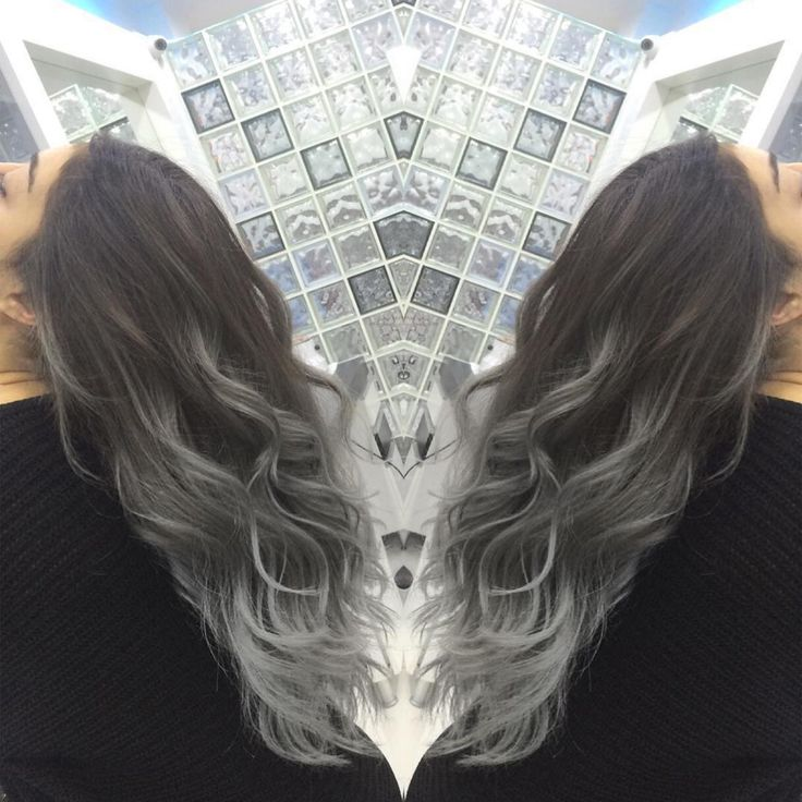 Gray Black And White Bedroom: Best 25+ Grey Ombre Hair Ideas On Pinterest