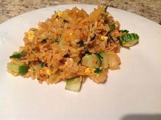 delish in a dish: Pineapple Fried Rice