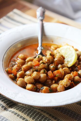 Moroccan-Inspired Chickpea Stew by Olga Irez