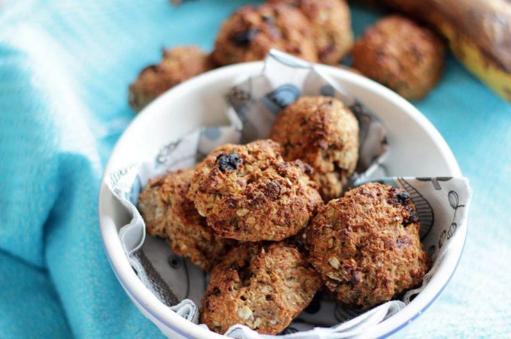 Suikervrije pindakaas havermout koekjes