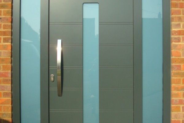 Internorm's aluminium modern entrance door