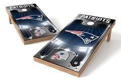 New England Patriots Single Cornhole Board - Plate