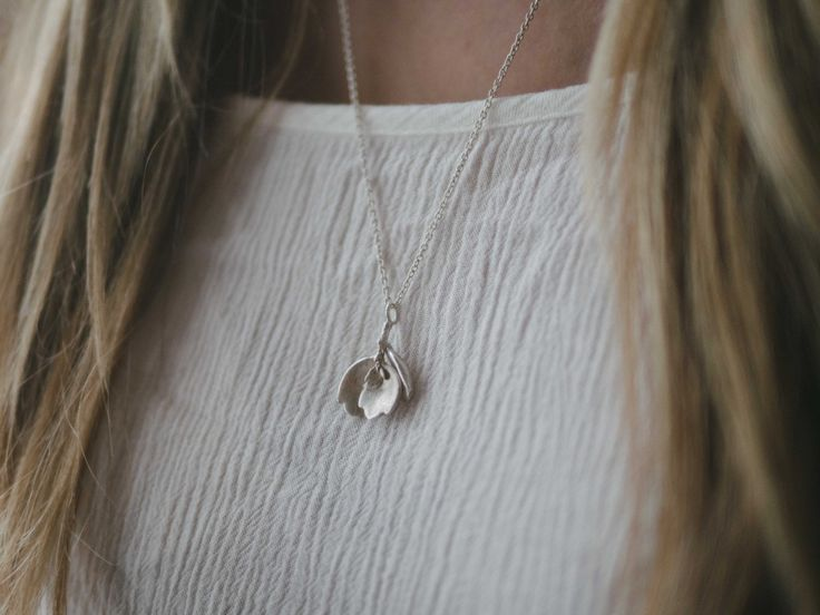 Succulent leaves in Solid Sterling Silver by WILD Wattle https://www.etsy.com/listing/470190427/succulent-leaves-in-solid-sterling