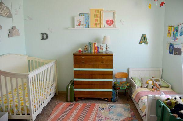 hart + sew   Vintage Baby Clothing: nursery tour