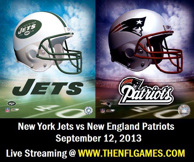 New York Jets vs New England Patriots Live Streaming