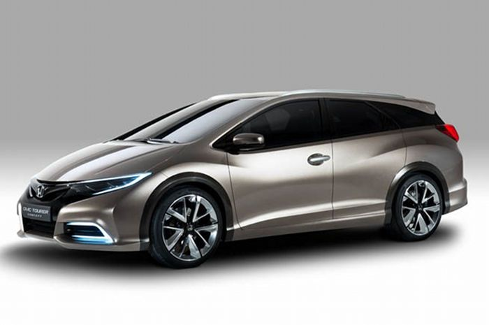 Honda Civic Tourer Concept Revealed: The alternative is so familiar