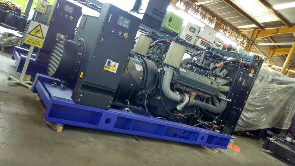 Genset MTU 650 kVA  MTU 1600 series 12V configuration..