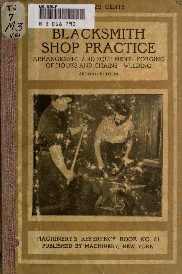 487 best metalwork and blacksmithing images on pinterest tools free blacksmithing book pdfs fandeluxe Choice Image