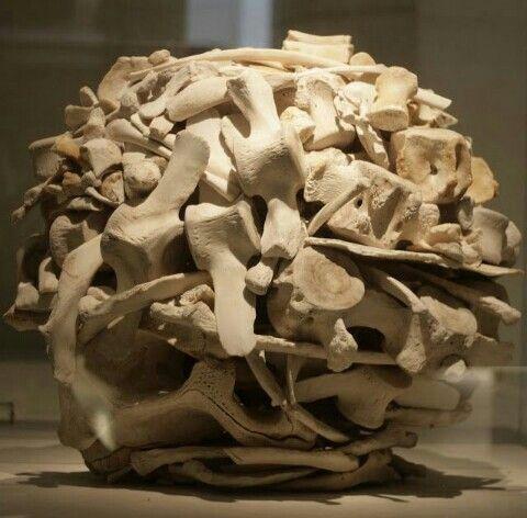 Escultura realizada por el método de adicción.