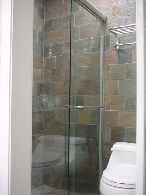 21 best images about small bath remodels on pinterest for Examples of bathroom remodels