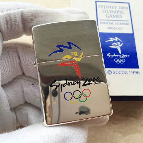 Zippo Sydney 2000 Olympic Games Lighter Limited Edition - A