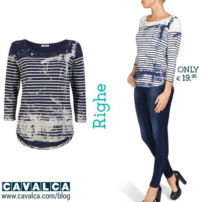 Nuovi arrivi per la primavera 2015! #righe #inspiration #fashion #outfit #only #moda #cavalca