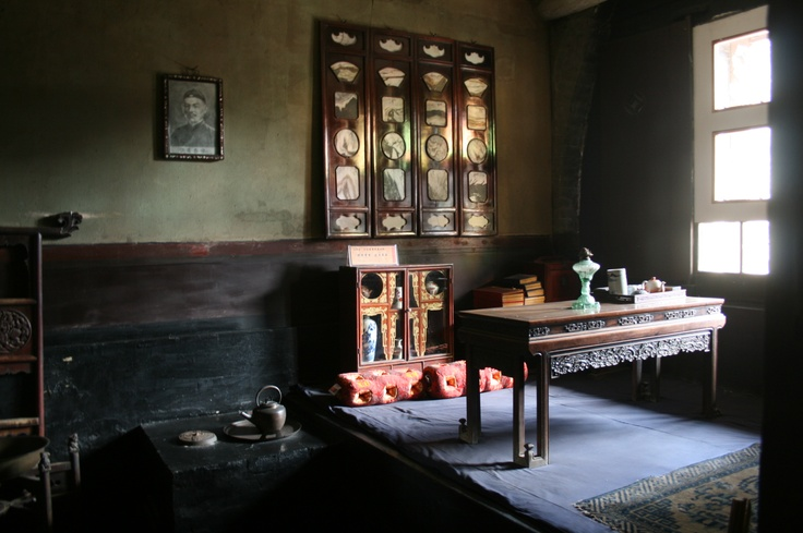 Pingyao antique room  with sunshine.