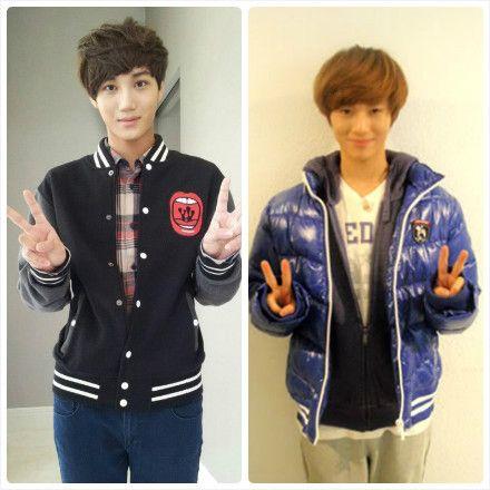 EXO Kai and Taemin looks alike don't they | EXO ...