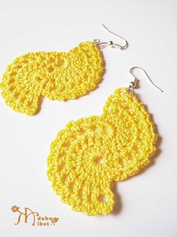 adakaalkot.blogspot.com   www.facebook.com/adakaalkot  |   Adaka alkot |  crochet waves , jewelery , earrings  |  horgolt hullámok, ékszerek, fülbevalók