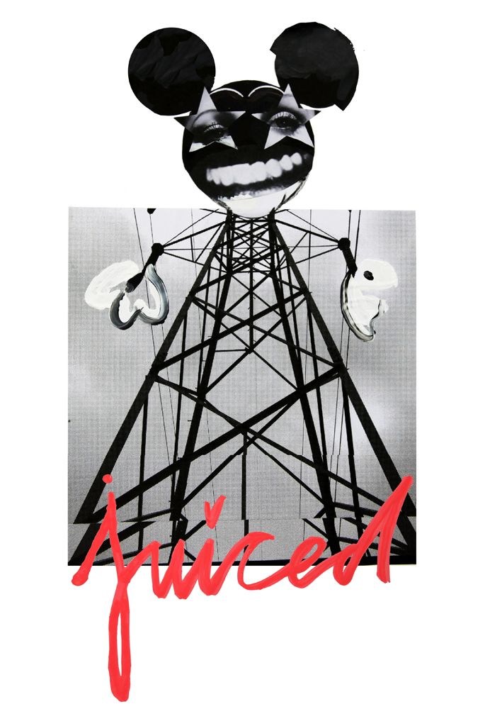 QUENTIN JONES » Harvey Nichols T-shirt print
