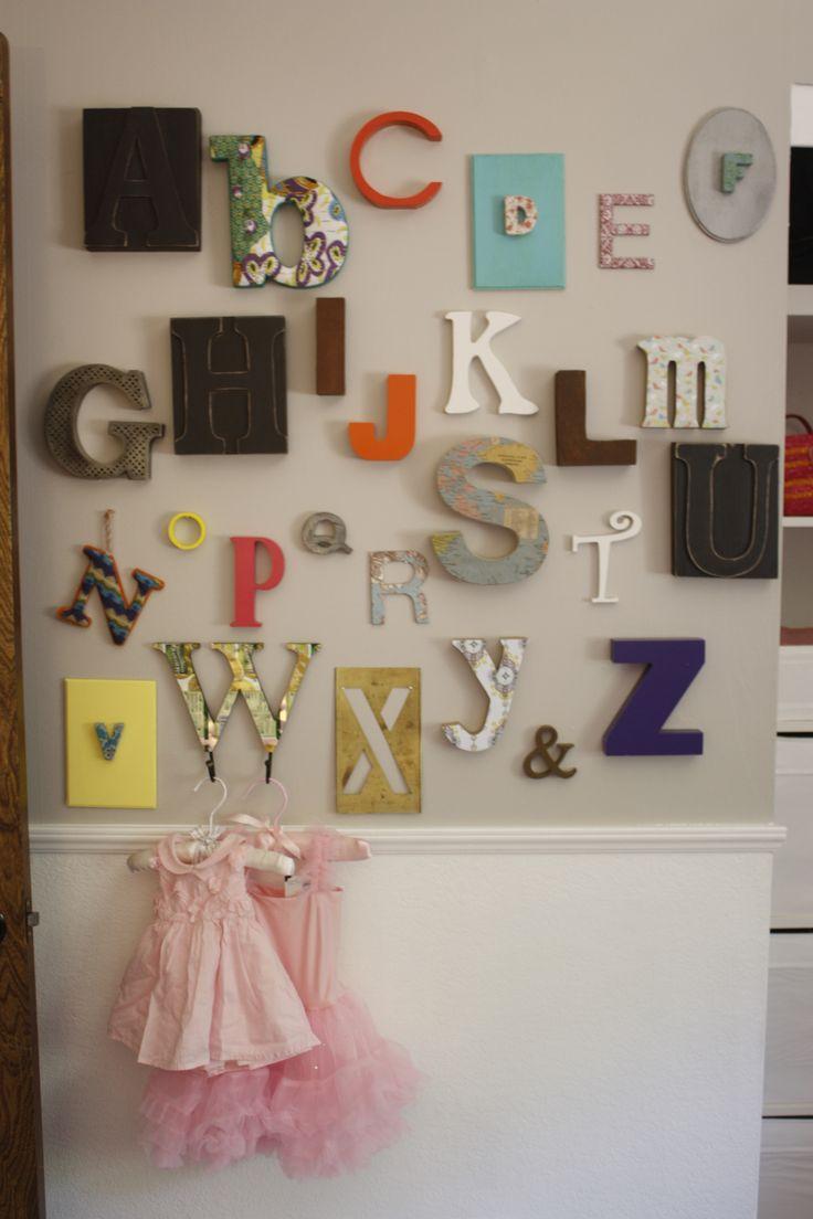 25 unique abc wall ideas on pinterest alphabet nursery alphabet wallrround with an empty frame amipublicfo Images